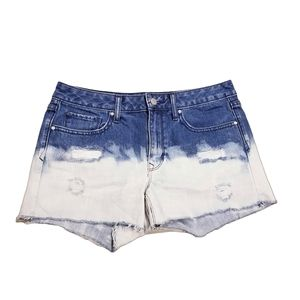 GAP Distressed Bleached Style Cut Off Shorts